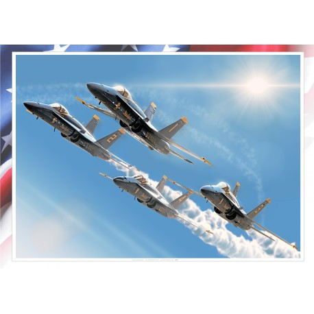 'BLUE ANGLES' tribute MB-162