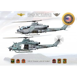 "HMLA-367 ""Scarface"" Hawaii JP-3504"