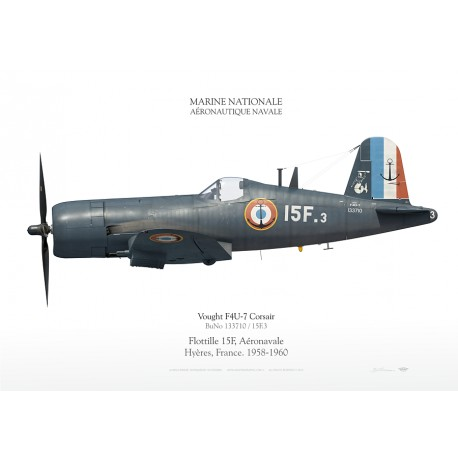 "F4U-7 ""Corsair"" 15.F MARINE NATIONALE SKY-26"