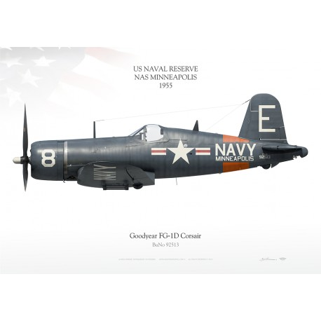 "FG-1D ""Corsair"" NAS MINNEAPOLIS SKY-27"