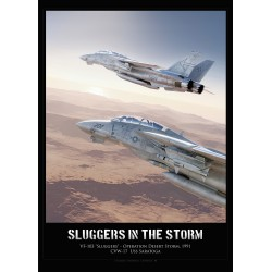 """""""SLUGGERS IN THE STORM"""" MB-169L"""