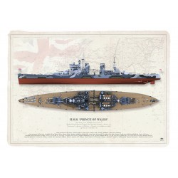 H.M.S. PRINCE OF WALES CE-13BL
