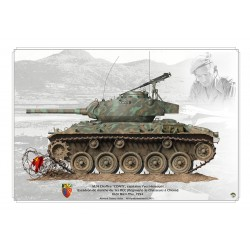 M24 Chaffee, Indochina 1954 KP-072B