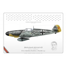 BF.109F-6 Adolf Galland Luftwaffe KP-73