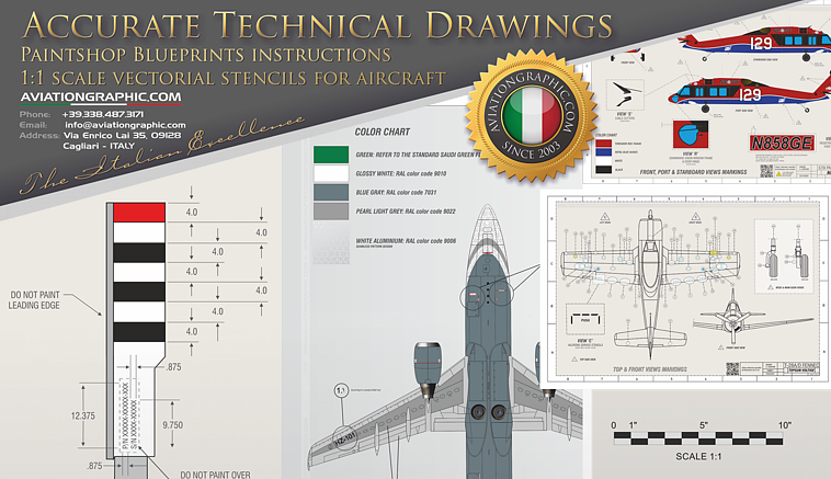 Accurate Technical Illustrations & Drawings